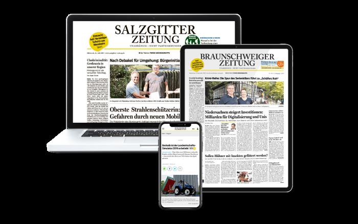 Wolfsburger Nachrichten Digital-Paket